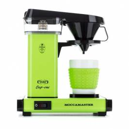 Review  Moccamaster Cup-One Coffee Brewer Fresh Green - Ekspres przelewowy