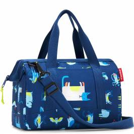 Review  Mała torba allrounder XS Reisenthel kids abc friends niebieska (RIQ4066)
